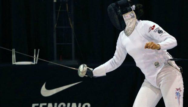 Fencer Kat Holmes